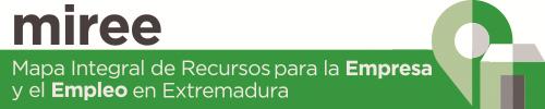 MIREE – Mapa integral de recursos para la empresa y el empleo en Extremadura Logo